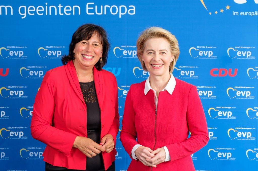 Marion Walsmann und Dr. Ursula von der Leyen.