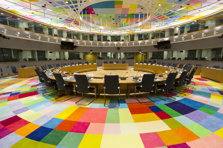 Sitzungssaal des Europäischen Rats in Brüssel. Es ist gut, dass nach viertägigen Verhandlungen ein Ergebnis vorliegt.